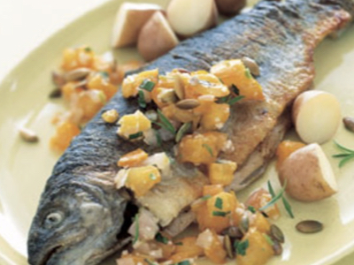 Ontario trout recipe